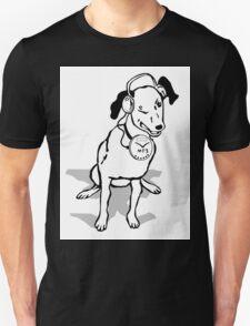 My Dog's MP3 Wink Unisex T-Shirt