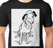 My Dog's MP3 Wink Unisex T-Shirt