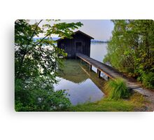 Water Barn (HDR) Canvas Print