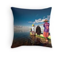Rooney Launch at Sanur Throw Pillow