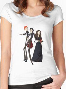 Tim Burton's Potter Women's Fitted Scoop T-Shirt
