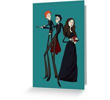 Tim Burton's Potter Greeting Card