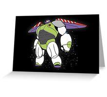 Baymax - Buzz Lightyear Greeting Card