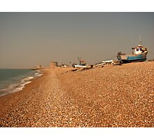 Hythe the fisherman's beach Photographic Print