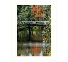 Old Cart Bridge,Seven Creeks, Euroa Art Print