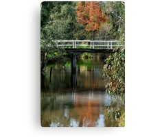 Old Cart Bridge,Seven Creeks, Euroa Canvas Print