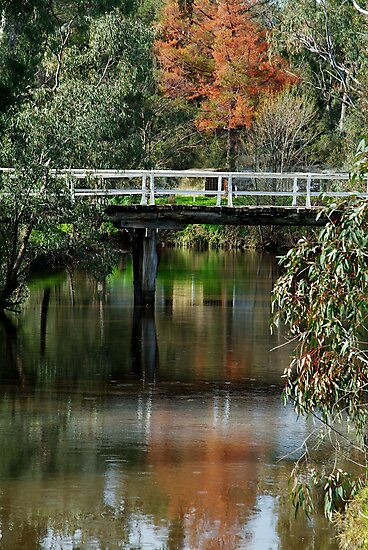 Old Cart Bridge,Seven Creeks, Euroa by Joe Mortelliti