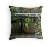 Old Cart Bridge,Seven Creeks, Euroa Throw Pillow