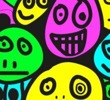 smiley's five Sticker