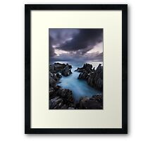The Bay of Spears Framed Print