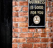 Guinness is good for you by Nigel R Bell