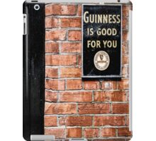 Guinness is good for you iPad Case/Skin