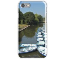 The canal Hythe Kent iPhone Case/Skin