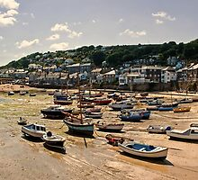 Mousehole, Cornwall by Lissywitch