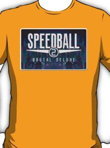 Speedball Genesis Megadrive Sega Start menu screenshot T-Shirt