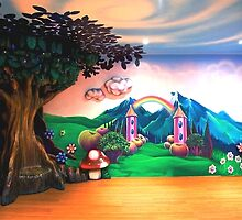 Fairy room continued in round by vinn