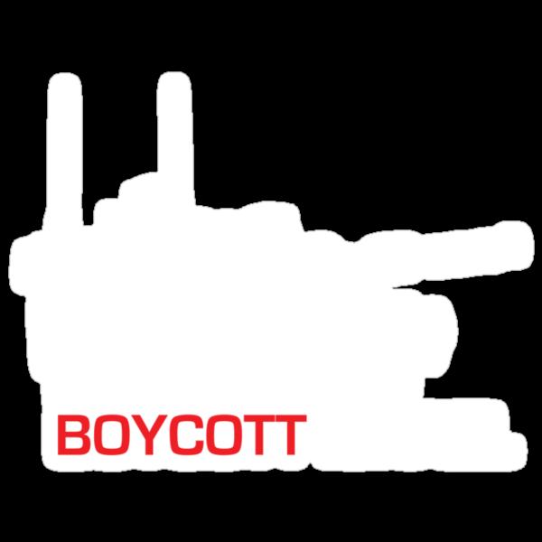 Boycott Israel (tank version) by vrangnarr