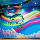 Rainbow Room mural by vinn