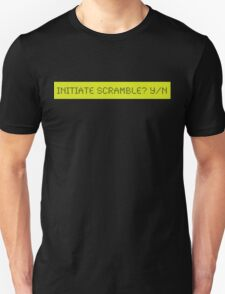 LCD: Initiate Scramble? Yes/No T-Shirt
