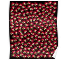 STRAWBERRIES as iPad Case Poster