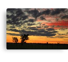 Dookie Sunset Canvas Print