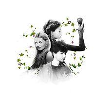 Swan Mills Family by aunicorndumbass