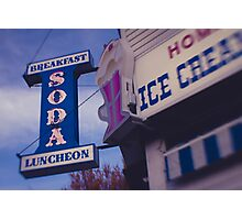 Long Island Sweet Shoppe Photographic Print