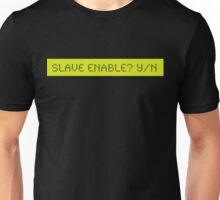 LCD: Slave Enable ? Yes/No Unisex T-Shirt