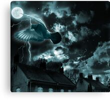 Mysterious night.... Canvas Print