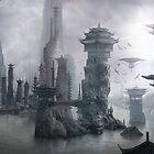 Misty China by Tanya Rochat