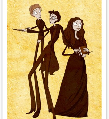 Tim Burton's Potter Sticker