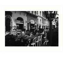 Cafe Italia Art Print