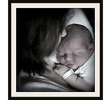 A Mother's Love.... Photographic Print