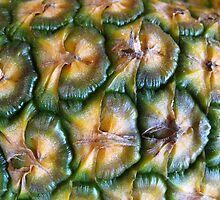 Pineapple Pattern by Detlef Becher