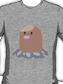 Digett Pokemon Simple No Borders T-Shirt