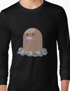 Digett Pokemon Simple No Borders Long Sleeve T-Shirt