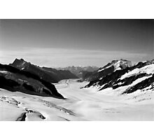 Tranquility in the Swiss Alps Photographic Print