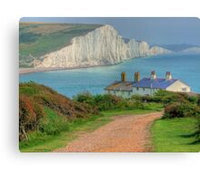 The Seven Sisters - The Classic View!  - HDR Canvas Print