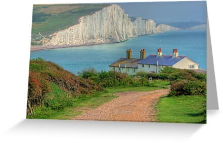 The Seven Sisters - The Classic View!  - HDR by Colin  Williams Photography