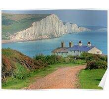 The Seven Sisters - The Classic View!  - HDR Poster