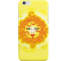 Abstract Sun iPhone Case/Skin