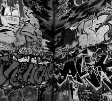South Bank Graffiti - 1/5 by Pepperkayn