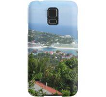 Cruise Ships St Thomas Samsung Galaxy Case/Skin