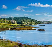 Dunvegan Castle Isle of Skye by Chris Thaxter