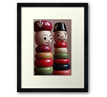 Tweedledum and Tweedledee  Framed Print