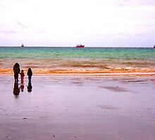 Three - The sea - Puerto Madryn Argentina by Denis Marsili - DDTK
