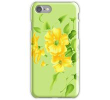 Bouquet of yellow wildflowers iPhone Case/Skin