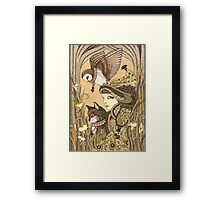 Harmony - 3 Of Charms Framed Print