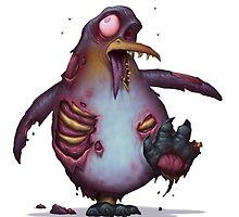 Zombie Penguin by DaveAllsop