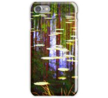 Fall Pond iPhone Case/Skin